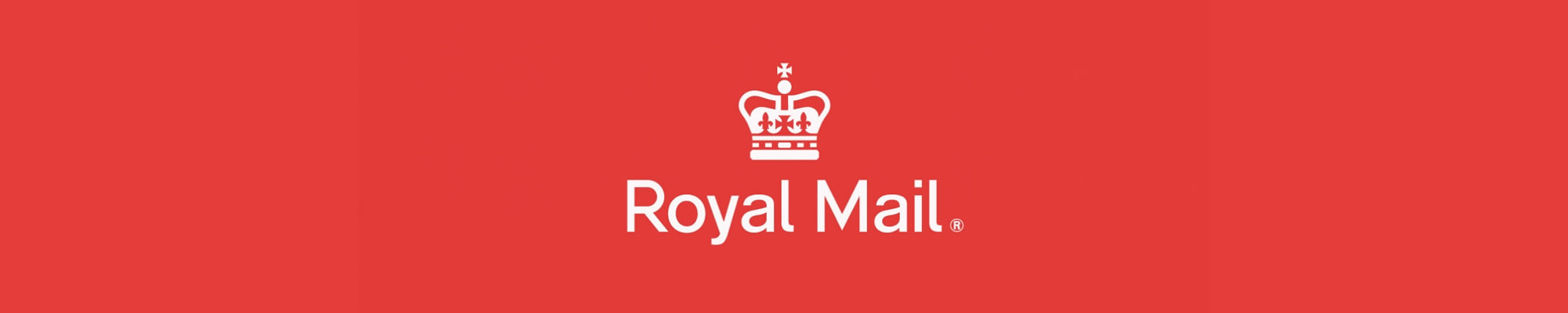 Royal Mail logo banner