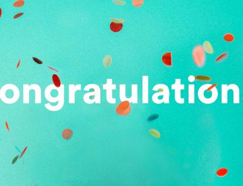 Congratulations Nathan!